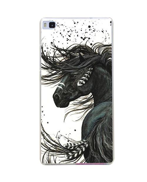 caballo-plumas
