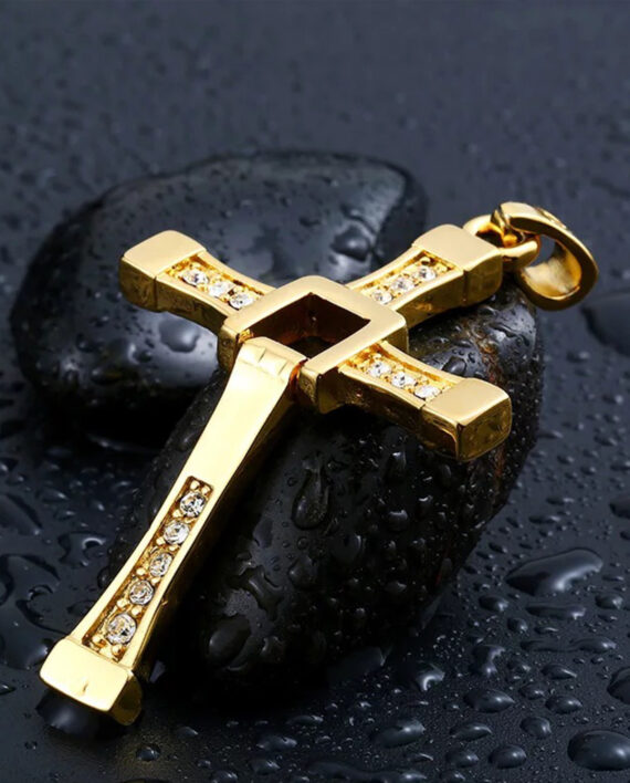 cruz toreto dorada